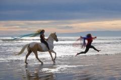 Alycia-Running-with-Golrush-Talia