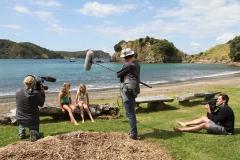 Filming Matai Bay Northland (18)