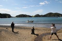 Filming Matai Bay Northland (27)