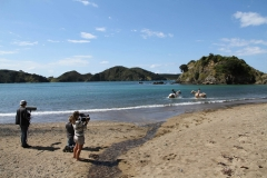 Filming Matai Bay Northland (34)